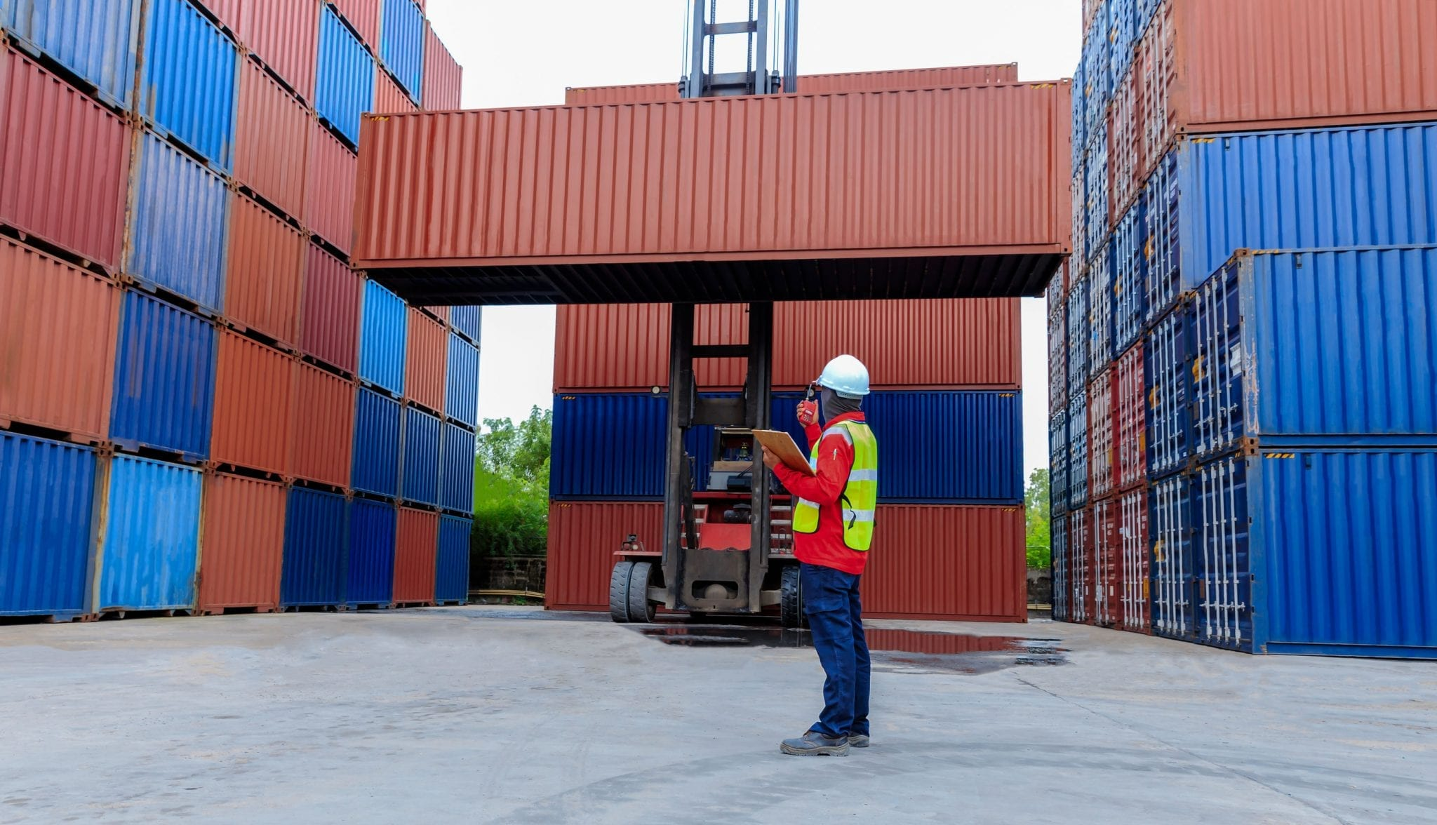Shipping Container (Cargo) GPS Tracking