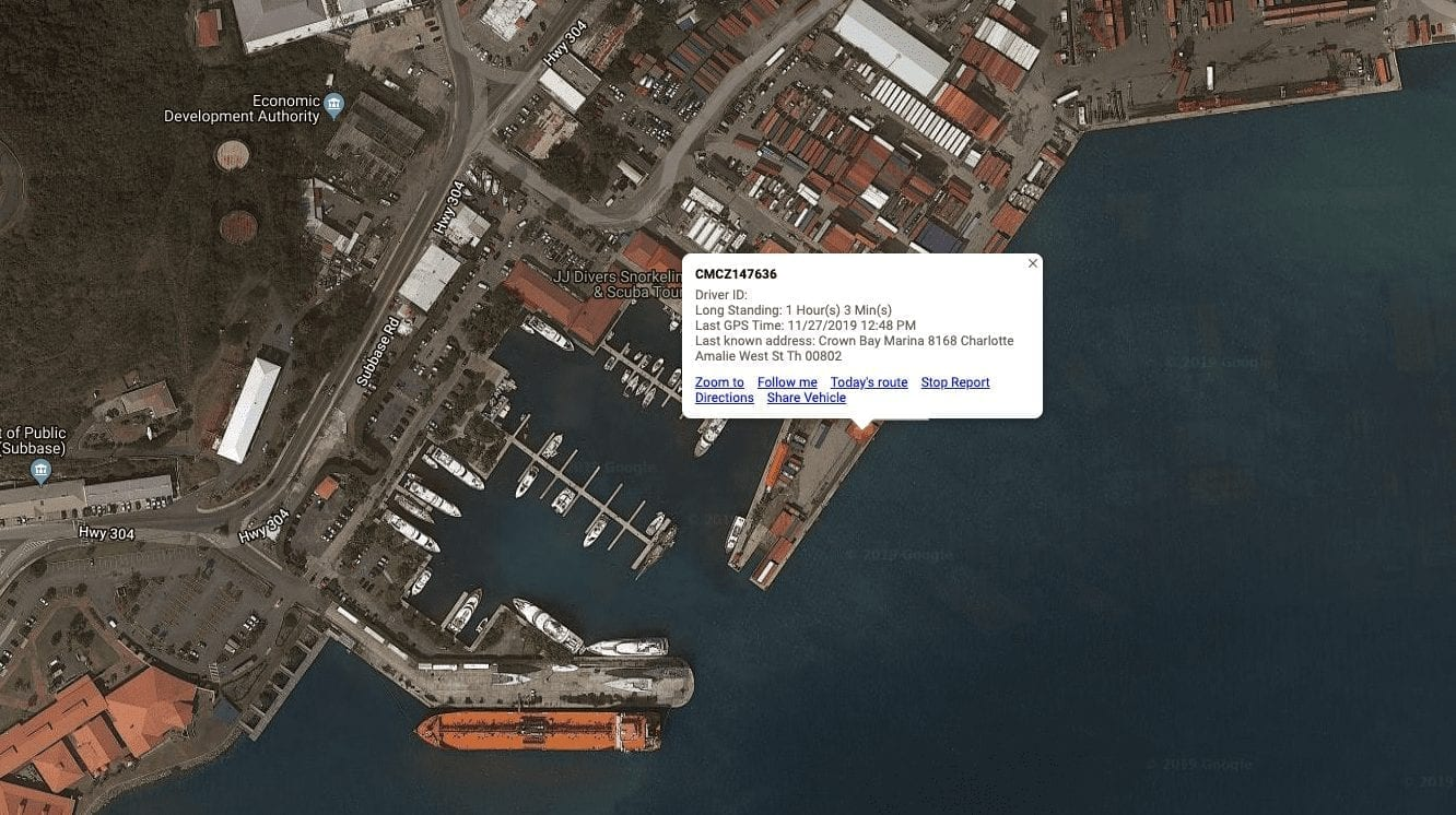 Shipping Container GPS Tracking